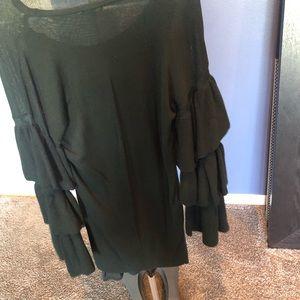 Gianni Bini Dresses - Dark green sweater dress
